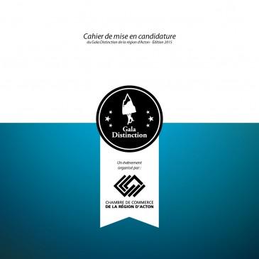 Gala Distinction 2015 : téléchargez le cahier de mise en candidature