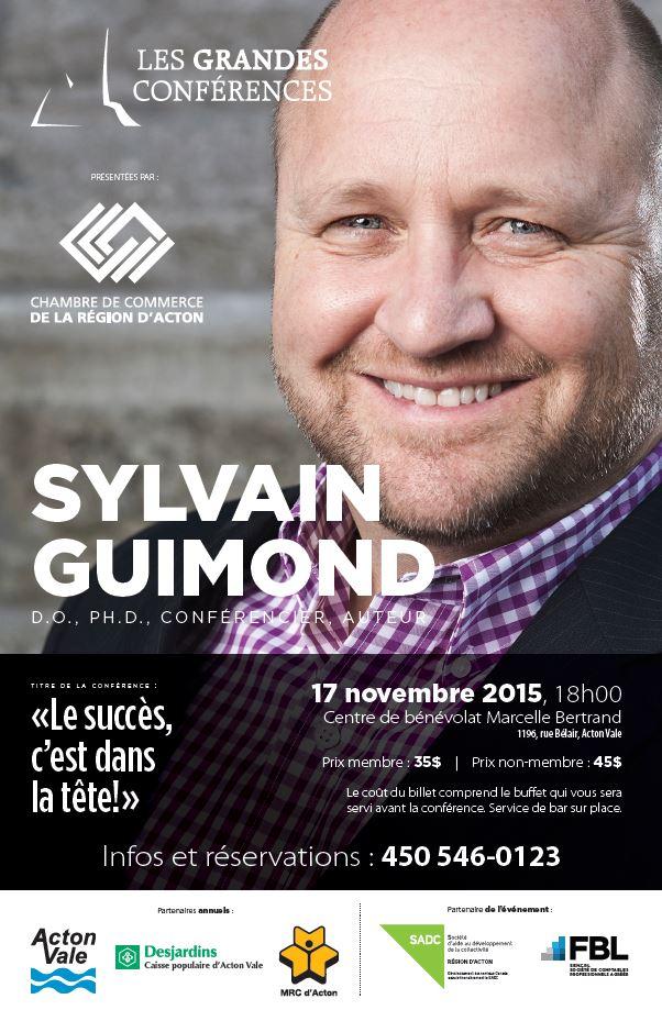 poster sylvain guimond