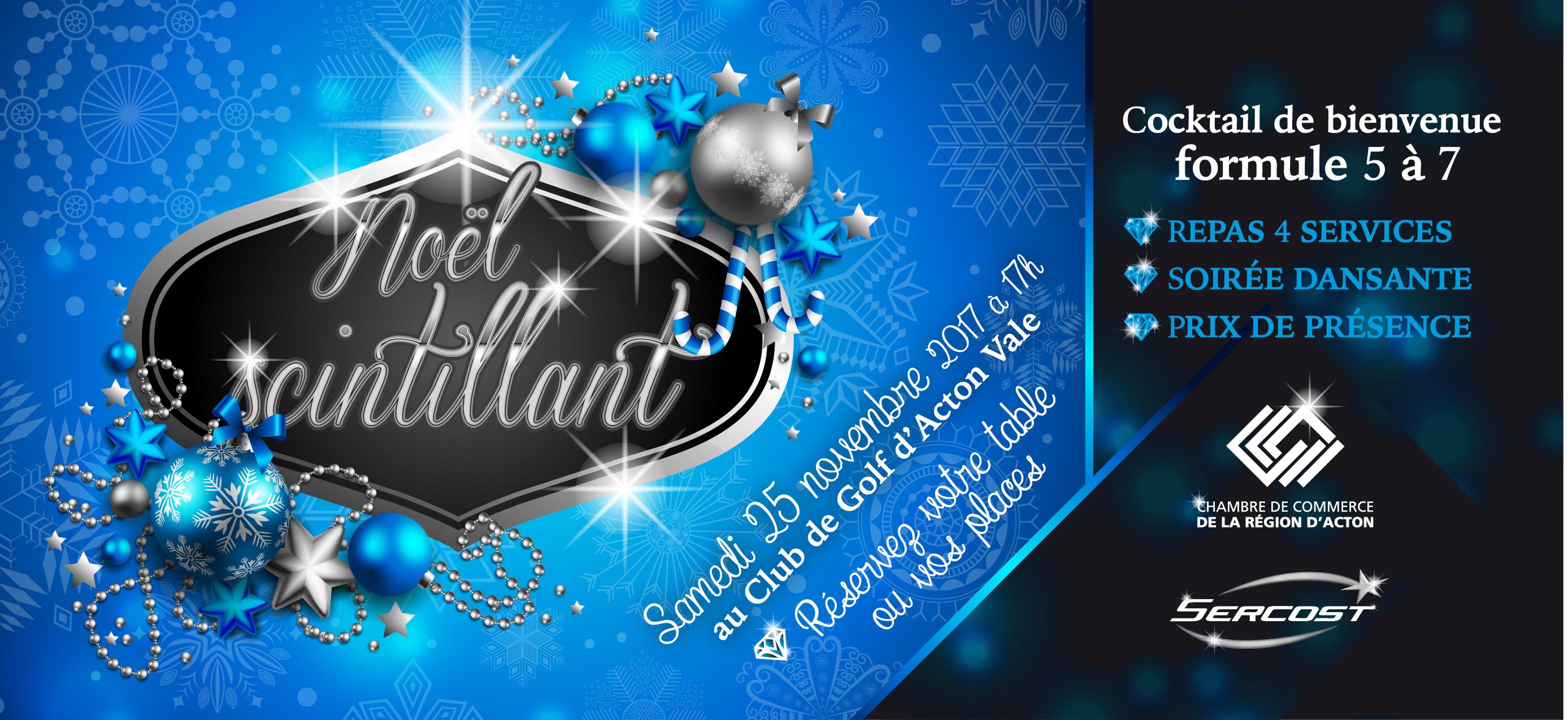 Party de Noël à Acton Vale